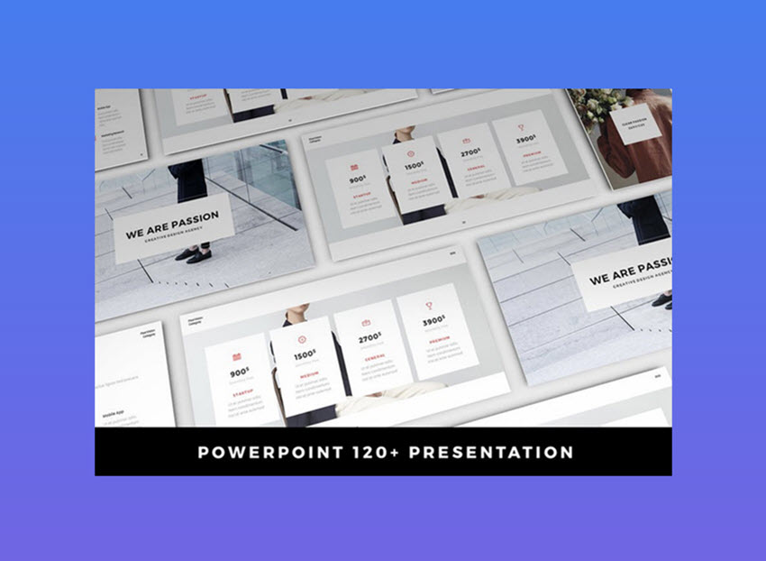 Passion Presentation Template