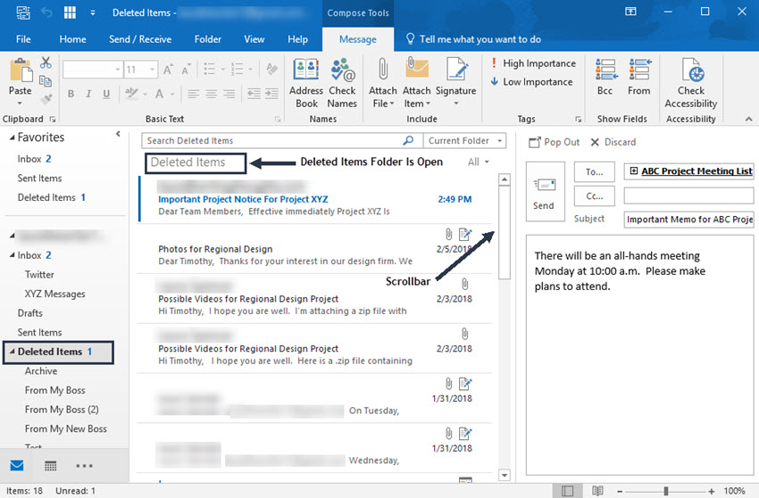 How to Find Missing Emails in MS Outlook (Where Is My Email?)