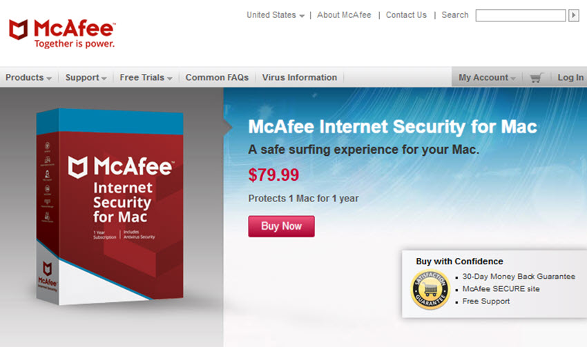 MacAfee Internet Security for Mac