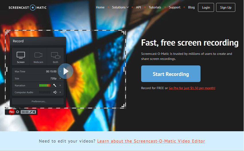 Top Free Screen Recorder for Mac