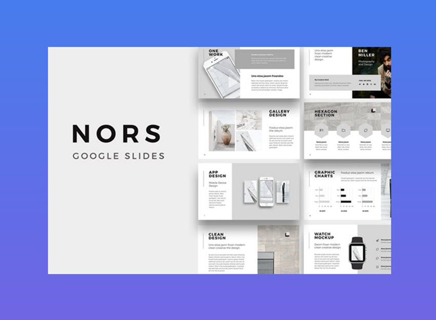 Best Business Presentation Templates For Google Slides - Google presentation templates