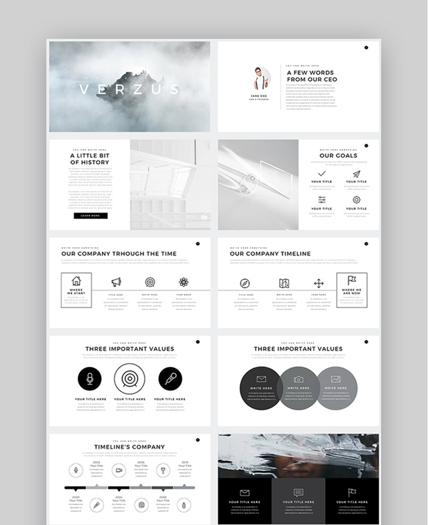 30+ Best Business Presentation Templates for Google Slides
