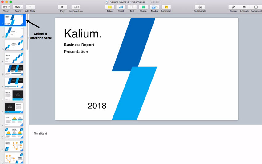 How to Add Presenter Notes in Keynote in 60 Seconds
