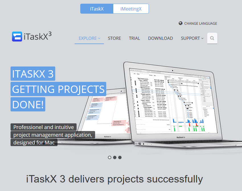 ITaskX3 Mac Project Management Software