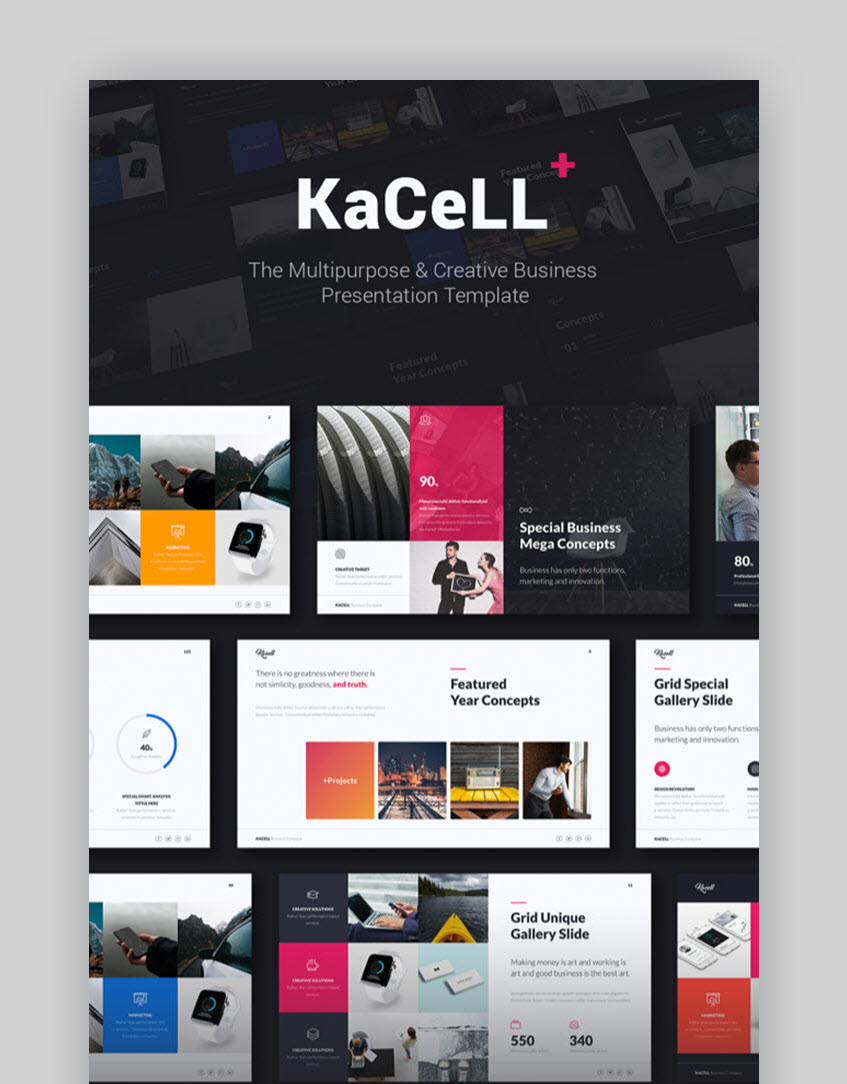 KaCell Multipurpose Template