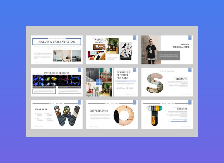 Haluiva Pitch Deck Keynote Template