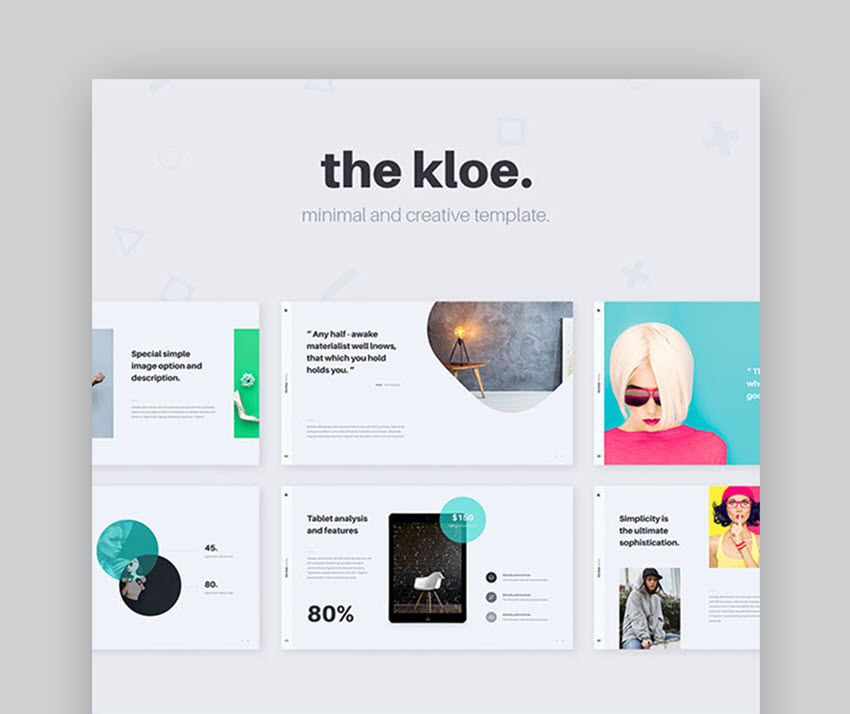 The Kloe Presentation Template Is A Great Choice For Professionals And Creatives Alike This Beautiful Keynote Will Help