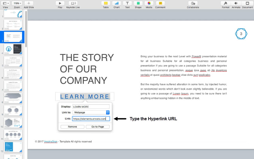 How to Make Hyperlinks in Keynote (In 60 Seconds)