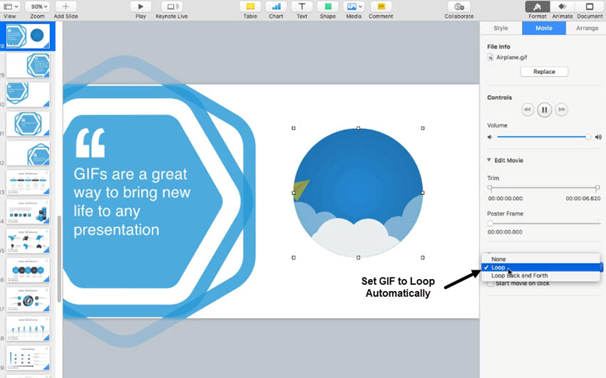 How to Add Animated GIFs to Keynote (In 60 Seconds)