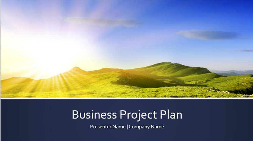 Business Project Plan Presentation