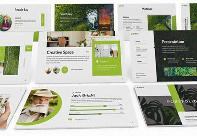 30 Terbaik Powerpoint Template Slide Ppt Gratis Premium Desain