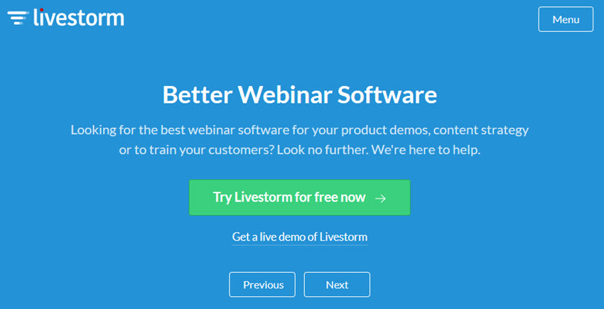 15+ Best Live Online Webinar Software for 2018 (Free + Paid)