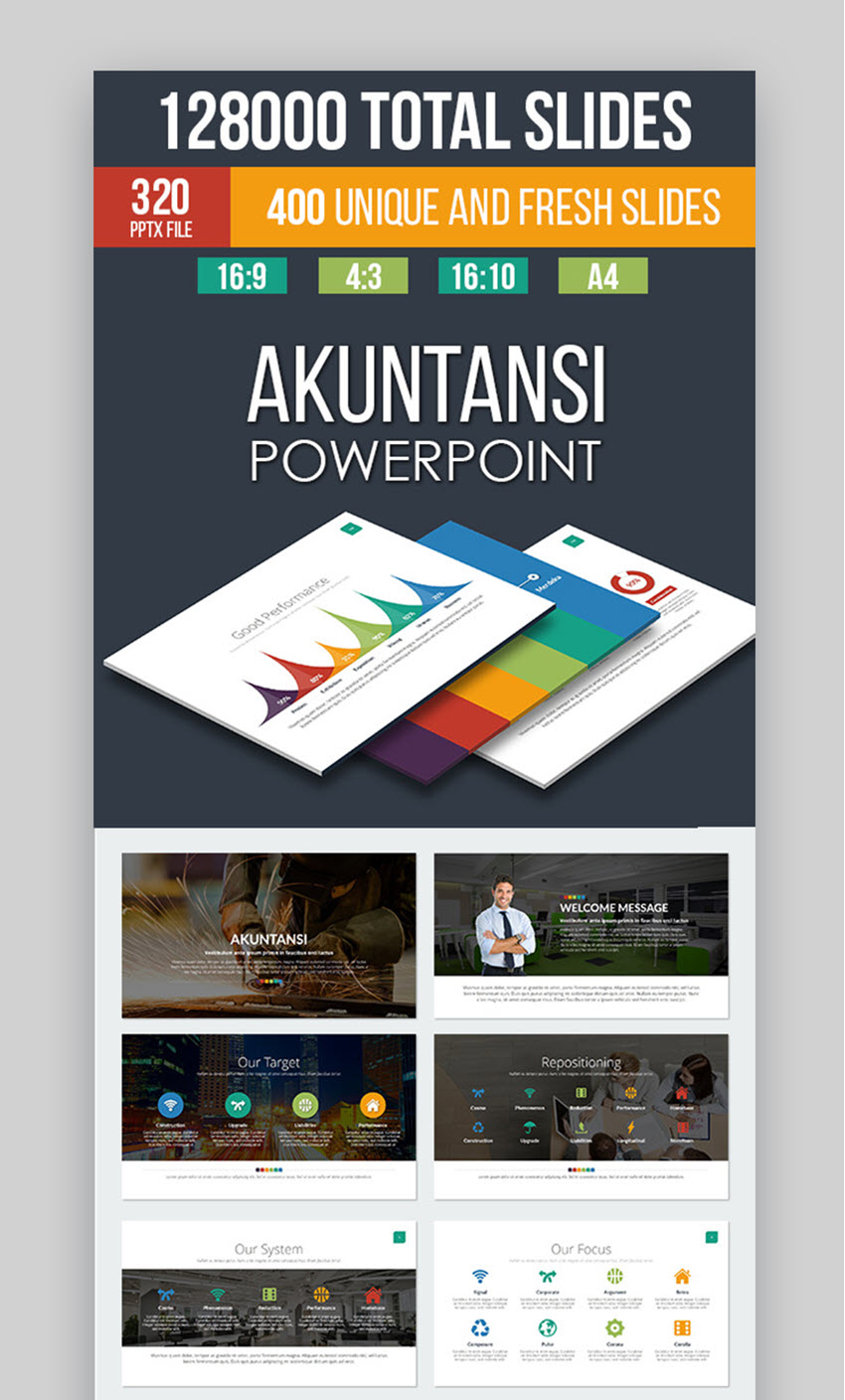 40 Best Free & Premium Animated PowerPoint Templates With