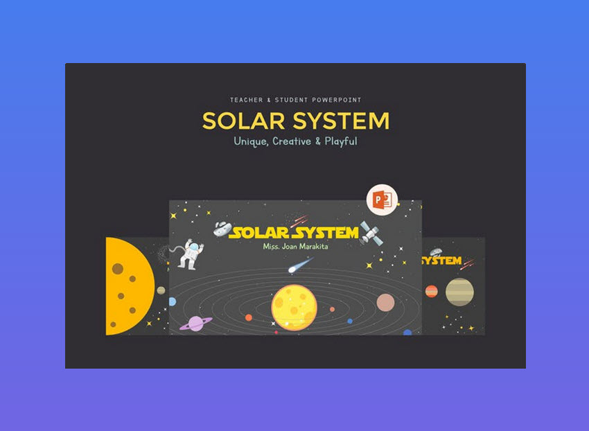 Solar System - presentacion cientifica