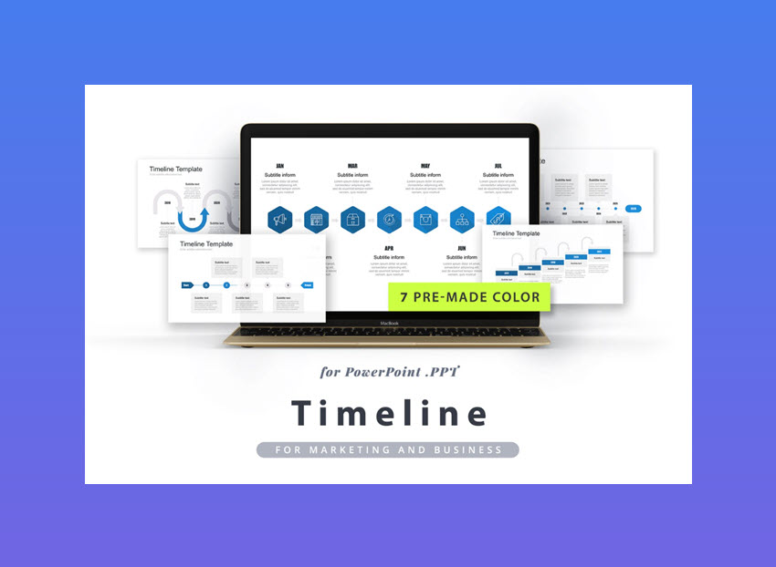 20 best free powerpoint timeline and roadmap templates timeline powerpoint template toneelgroepblik Choice Image