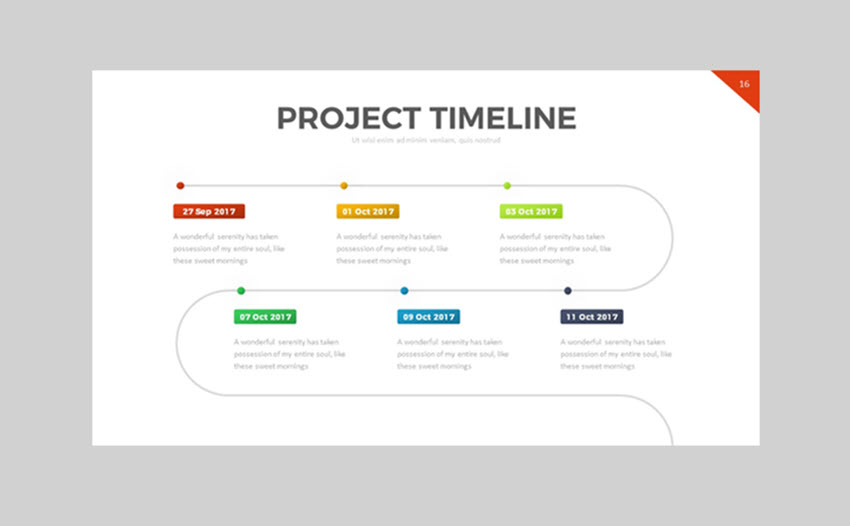 20 best free powerpoint timeline and roadmap templates project timeline powerpoint template toneelgroepblik Choice Image