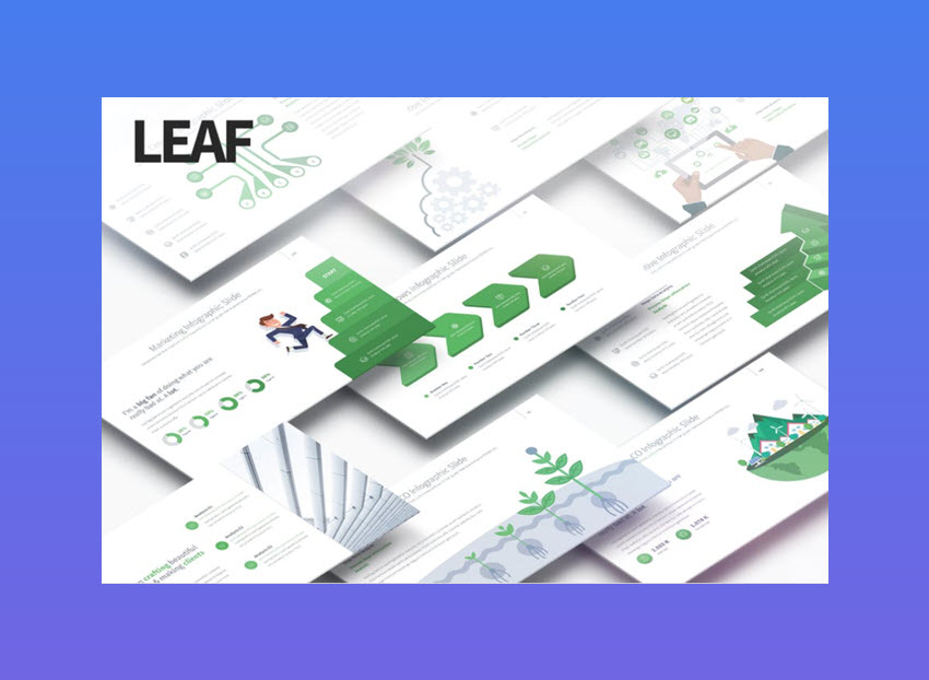 Leaf Multipurpose PowerPoint Presentation