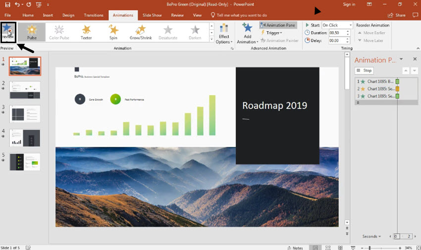 How to Simply Animate Charts in PowerPoint in 60 Seconds