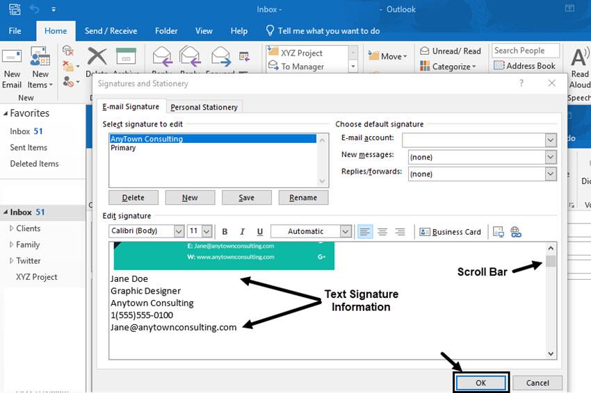 cara menambahkan tanda tangan email