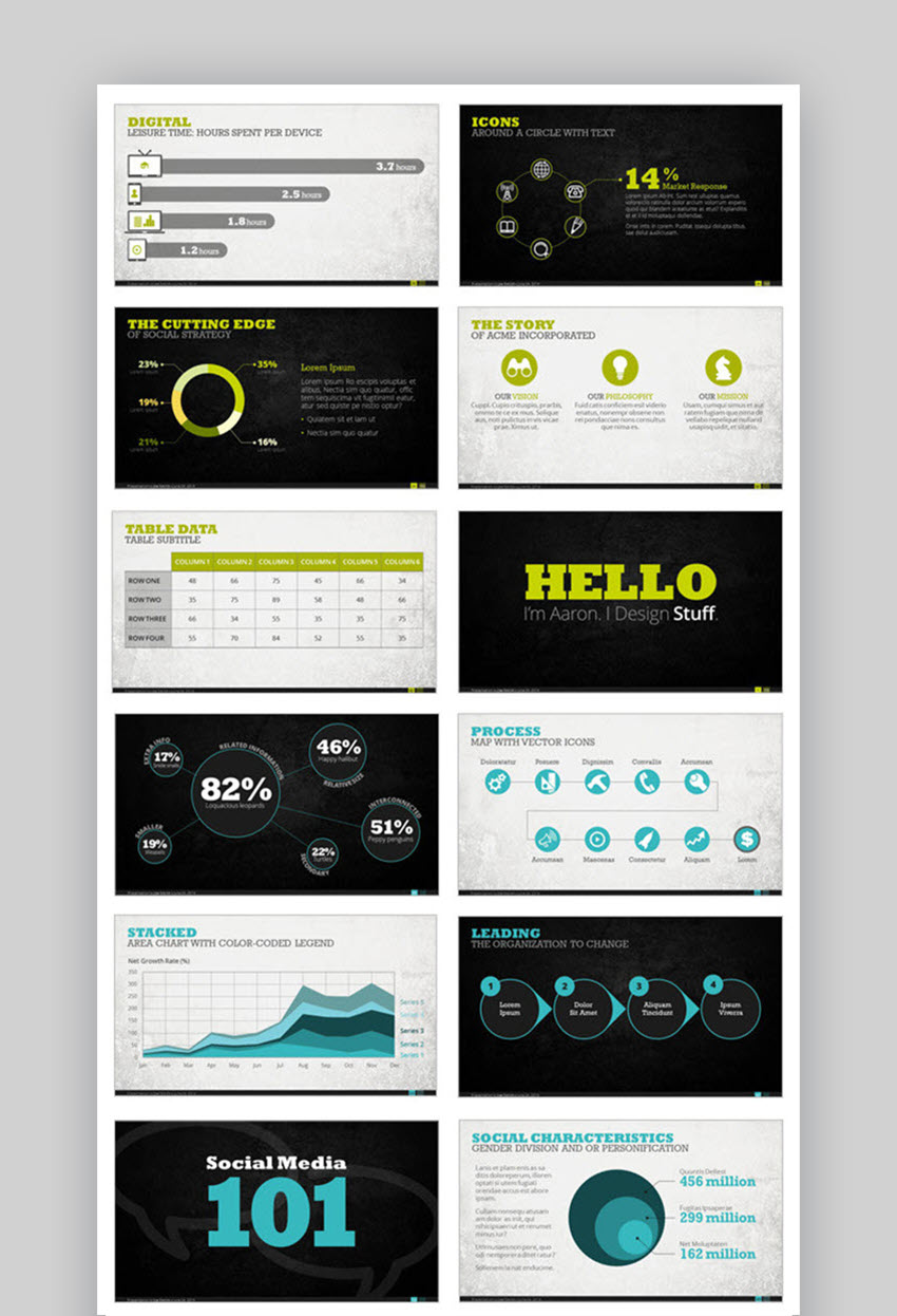 Premium Digital Presentation Template