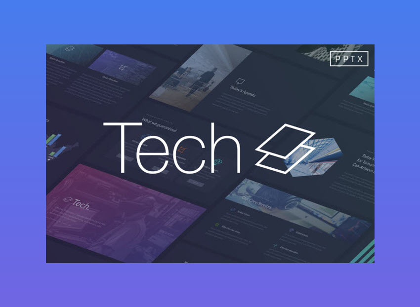 Tech PowerPoint Template