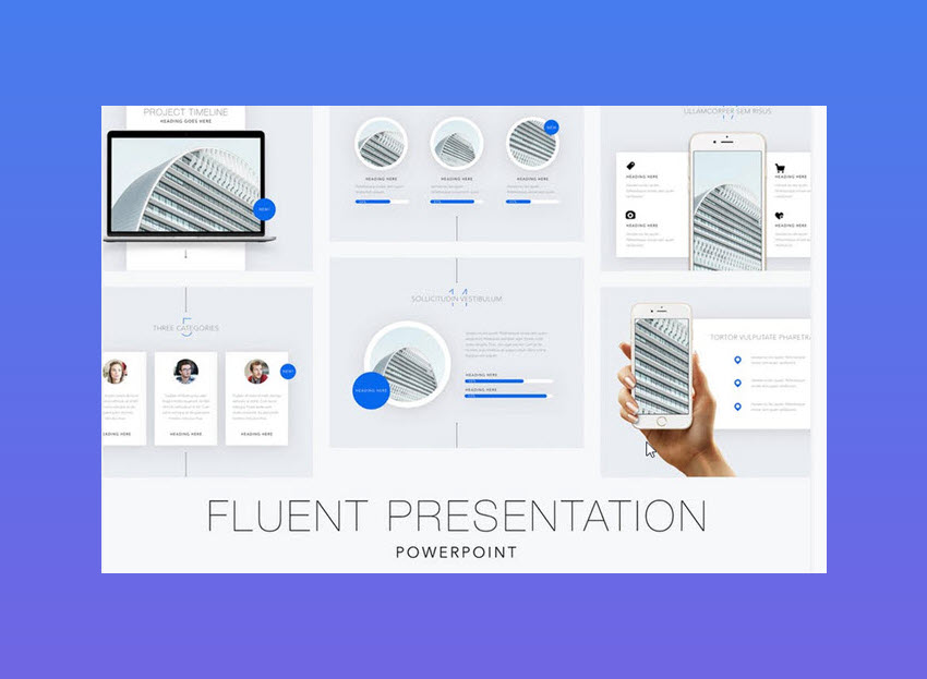 25 inspirational powerpoint presentation design examples 2018