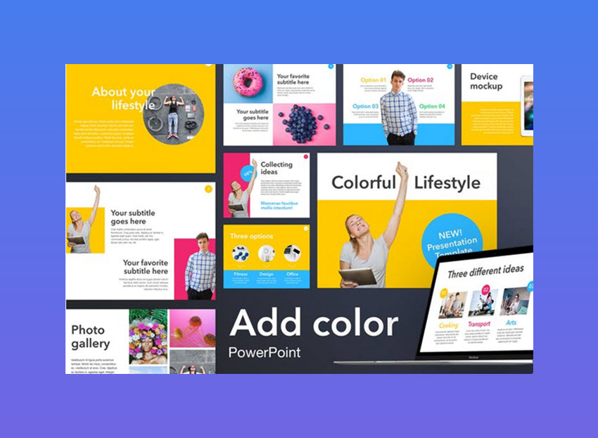 colorful templates for powerpoint