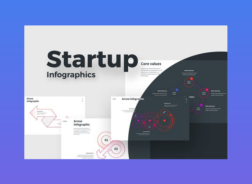 STARTUP Infographic Template PPT