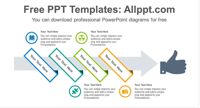 20 best free infographic powerpoint templates for data rich