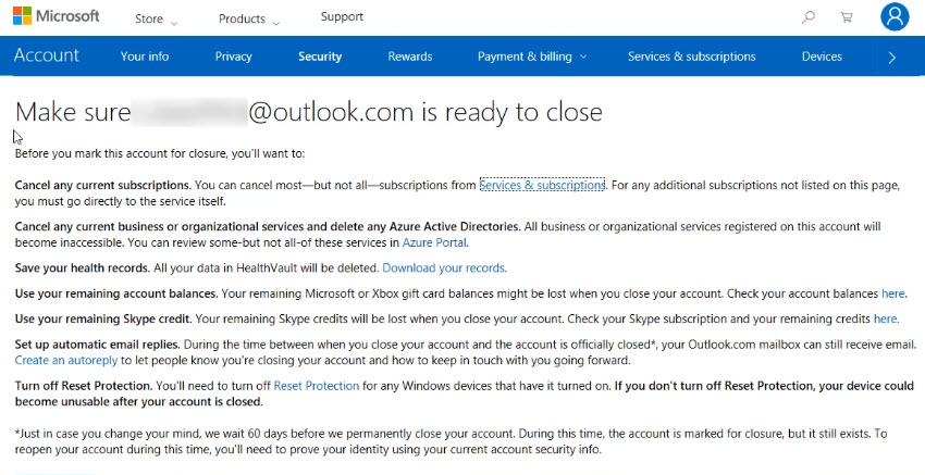 How to Quickly Delete Your Outlook Account (Or Profile) for Good