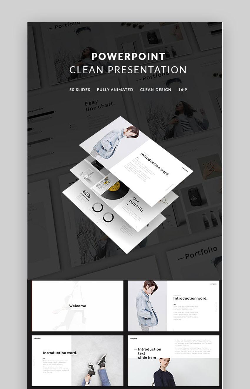 PowerPoint Clean Presentation