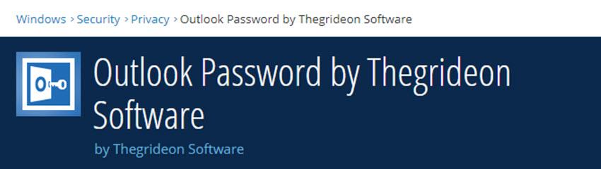 Outlook Password Tool