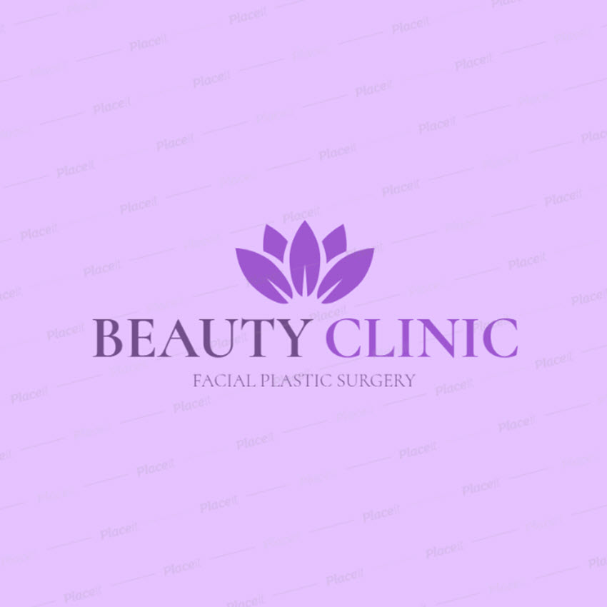Logo Maker to Design a Plastic Surgery Clinic Logo