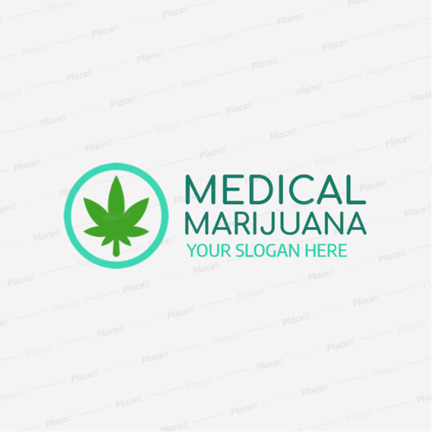 Logo Maker for a Medical Marijuana Clinic