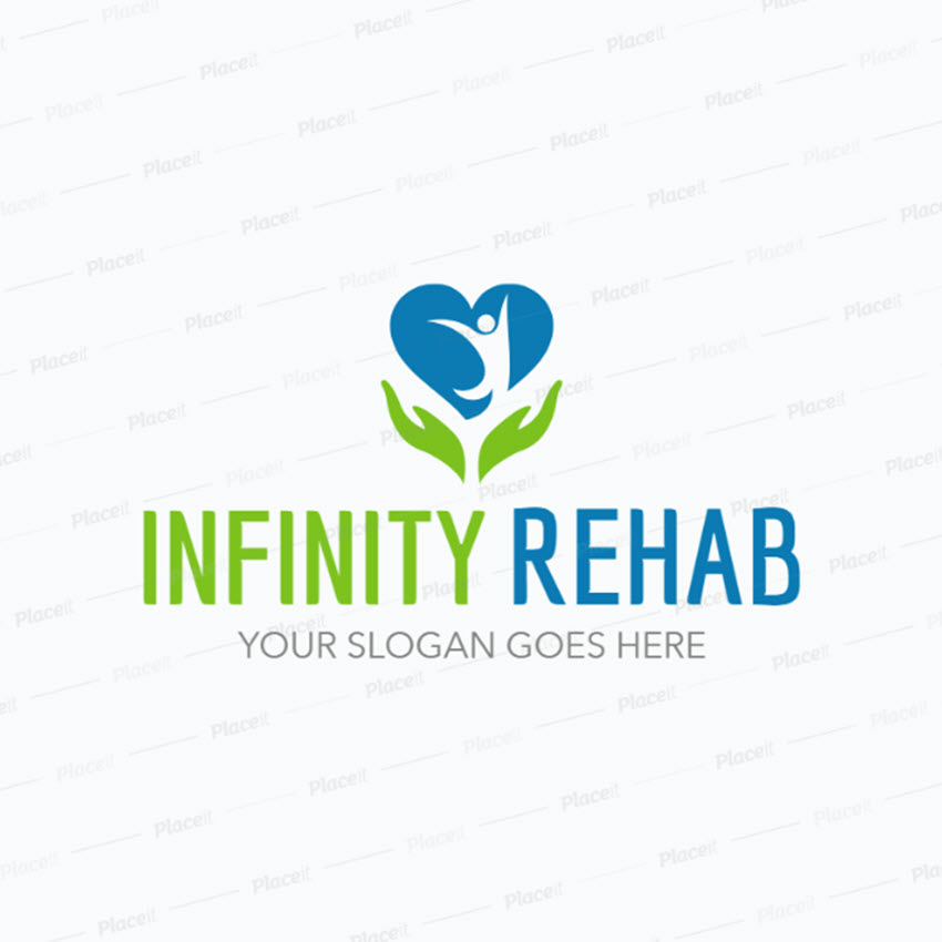 Logo Maker for a Rehab Center