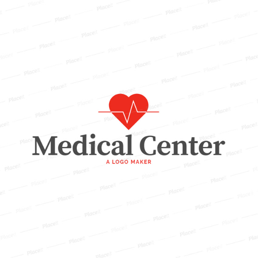 Clinic Logo Maker with Medical Symbols