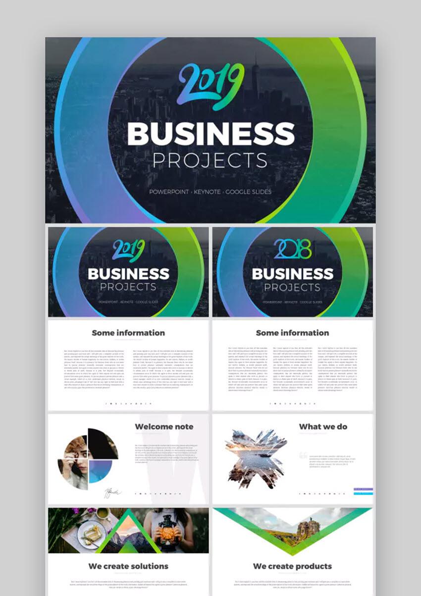 Business Projects Bundle 2019