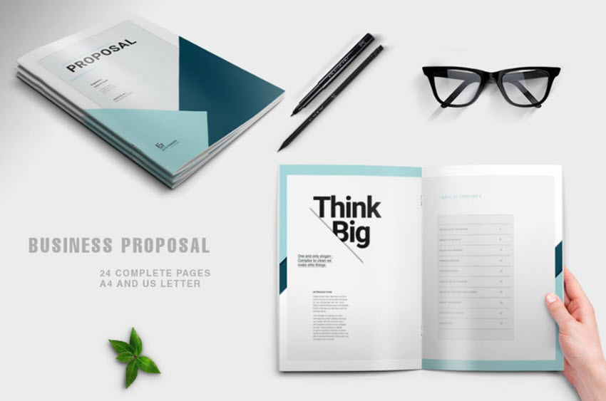35 Best Free Premium Business Proposal Templates