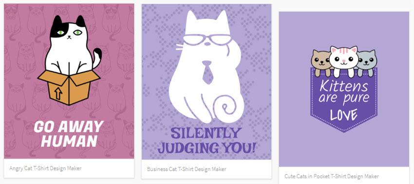 cat t-shirt-inspiration