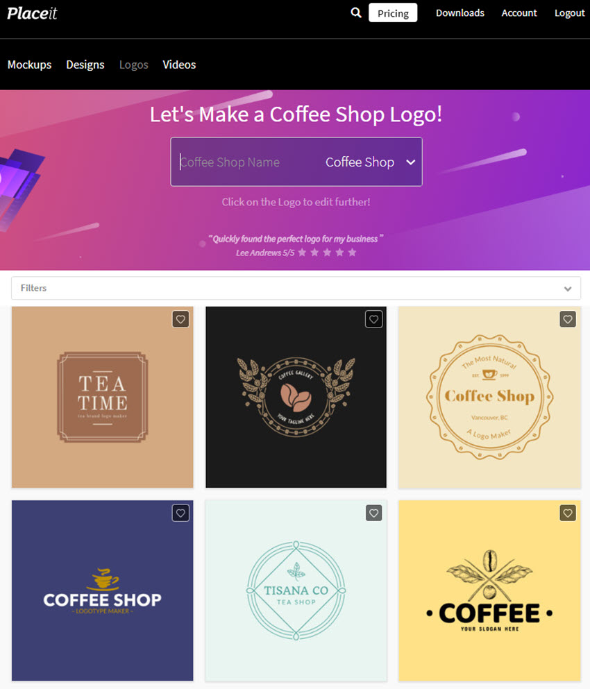 Coffee Shop Logo Maker
