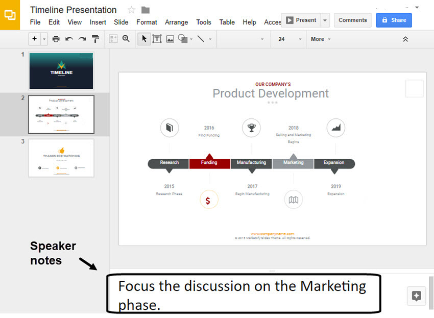 How to Make a Timeline on Google Slides With Templates