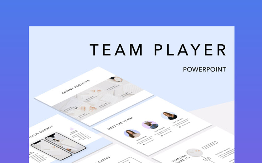 Team Player business organizational chart