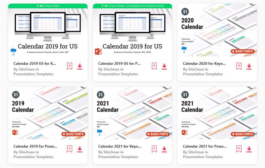 25 Best PowerPoint Calendar Template PPT Designs (For 2020 Presentations)