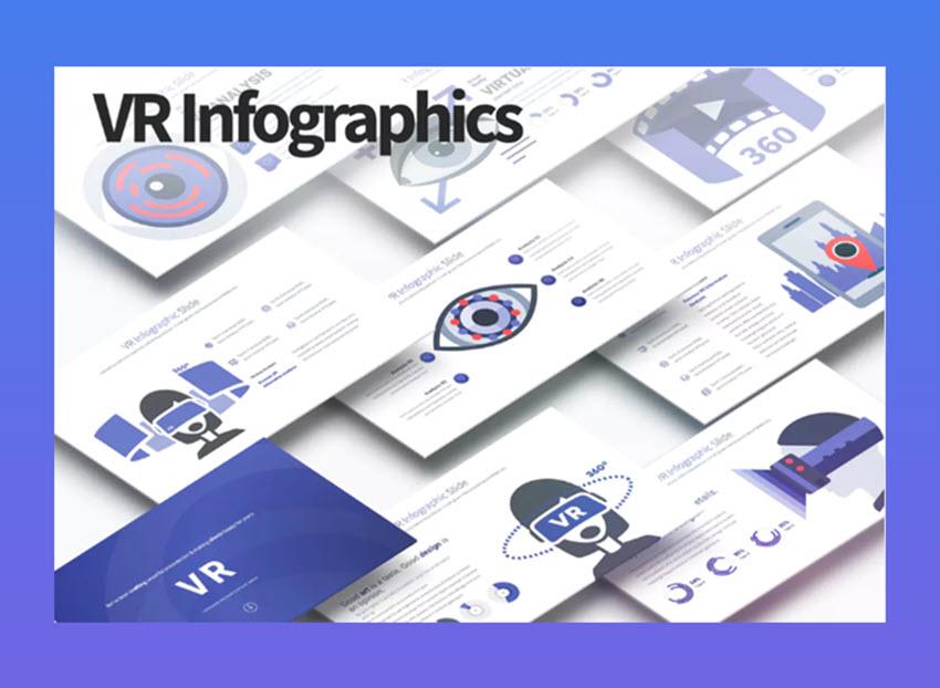 VR infographics sample