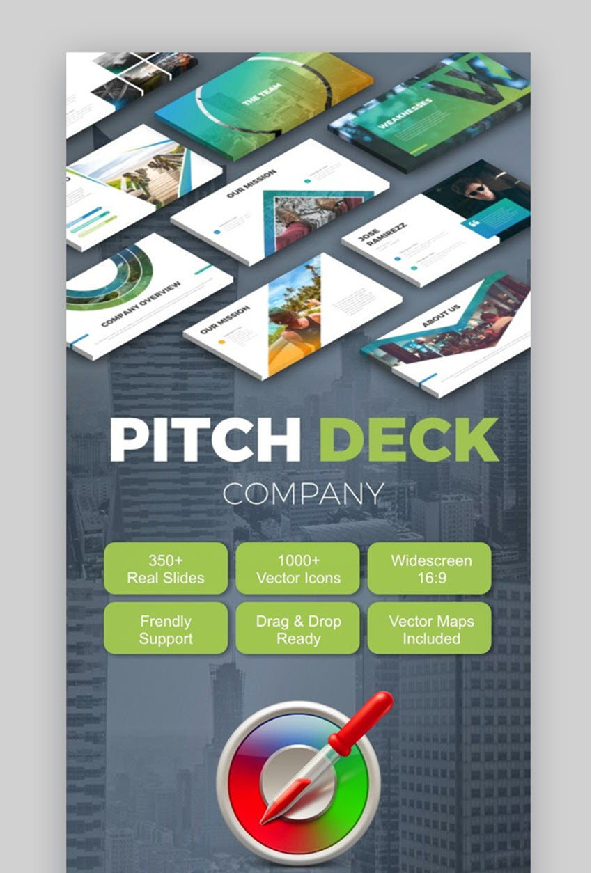 25 Best Pitch Deck Templates: For Business Plan PowerPoint