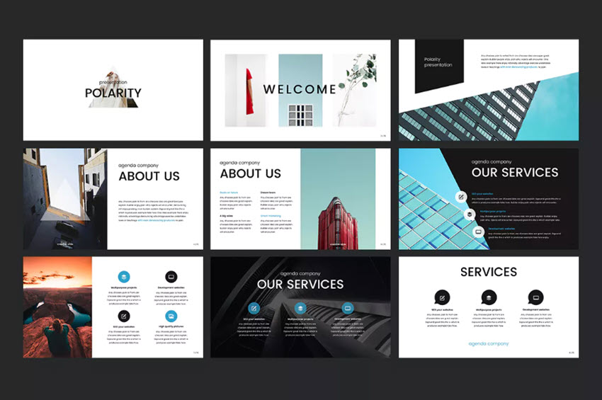 Polarity PowerPoint Template