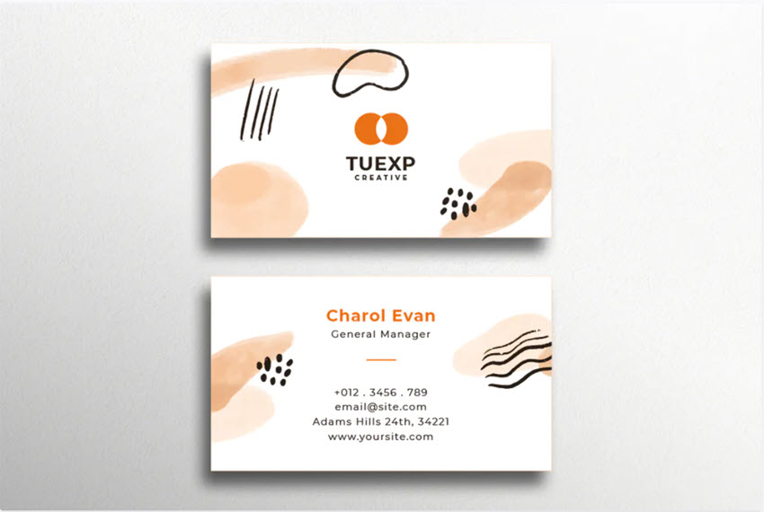 25 Professional Business Card Designs