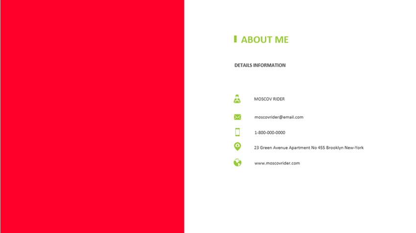 How to Make Your Resume in PowerPoint (With Creative PPT ...