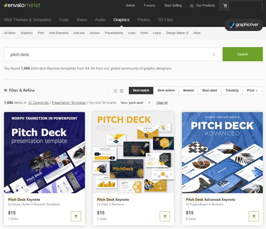 25 Best Keynote Pitch Deck Templates (Business Plan