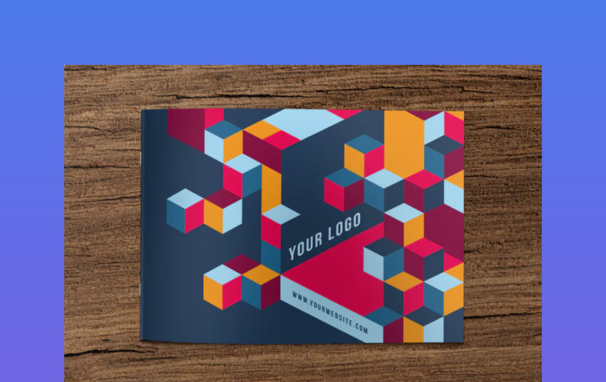 Cool Colorful Pattern Brochure